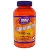 Now Foods, スポーツ、 L-グルタミン、 1000 mg、 240カプセル