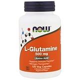 Отзывы о Now Foods, L-глутамин, 500мг, 120растительных капсул