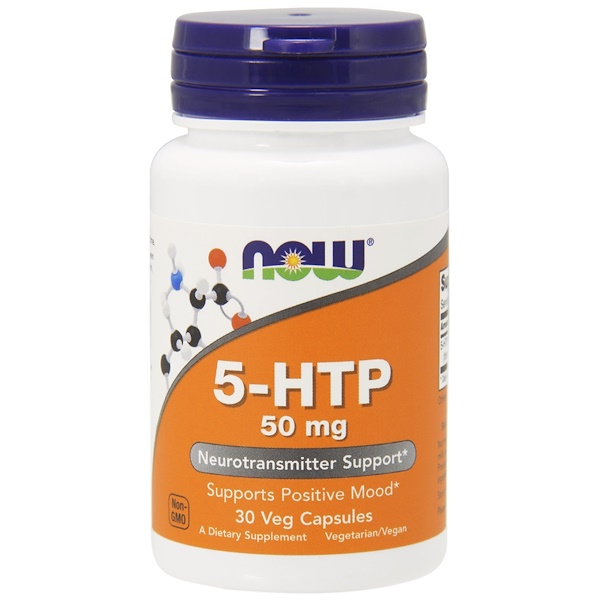 Now Foods, 5-HTP, 50 mg, 90 Veg Capsules