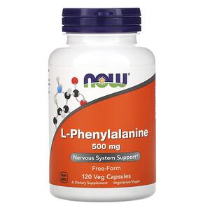 Now Foods, L-Phenylalanine, 500 mg, 120 Veg Capsules отзывы покупателей
