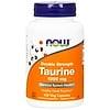 Now Foods, タウリン,ダブルストレングス, 1,000 mg, 100植物性カプセル
