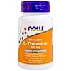 Now Foods, L-Theanine, 100 mg, 90 Chewables
