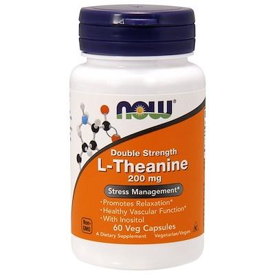 L-Theanine, двойная сила, 200 мг, 60 растительных капсул бета глюканы с immunenhancer дополнительная сила 250 мг 60 растительных капсул