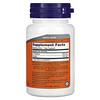 Now Foods, L-теанин, двойной концентрации, 200мг, 60растительных капсул
