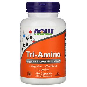 Now Foods, Tri-Amino, 120 Capsules отзывы покупателей