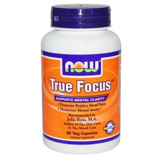 Now Foods, True Focus, 90 вегетарианских капсул