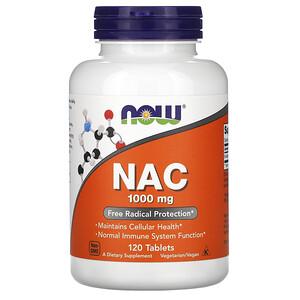 Now Foods, NAC, 1000 mg, 120 Tablets отзывы