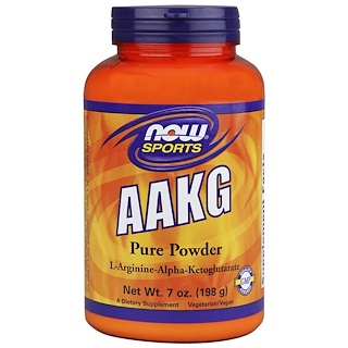 Now Foods, Sports, AAKG Pure Powder, 7 oz (198 g)
