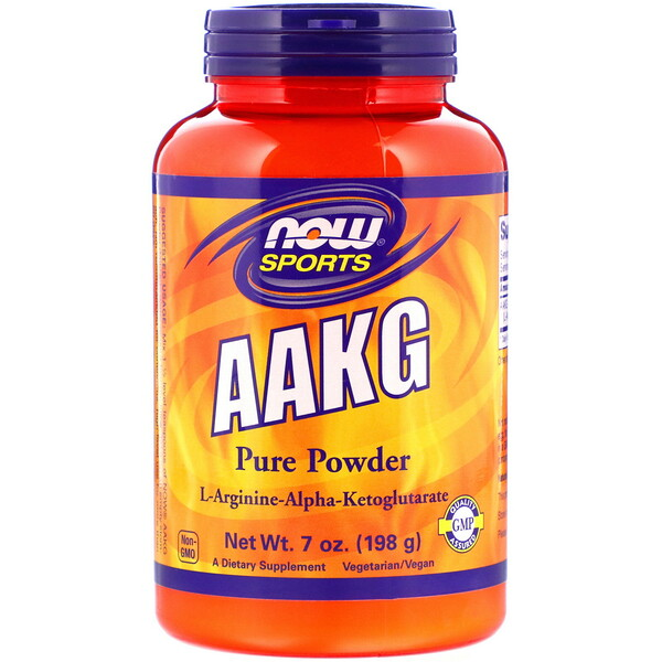 Sports, AAKG Pure Powder, 7 oz (198 g)
