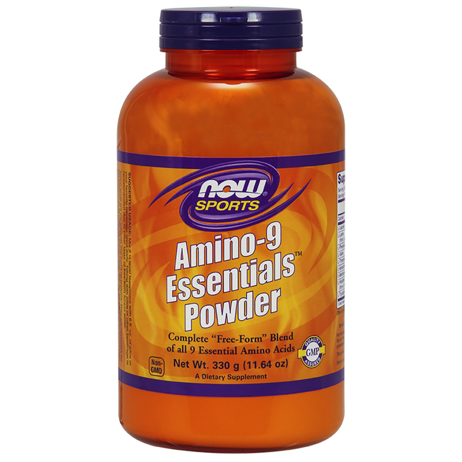 Now Foods, Sports, Amino-9 Essentials Powder, 11.64 oz (330 g)