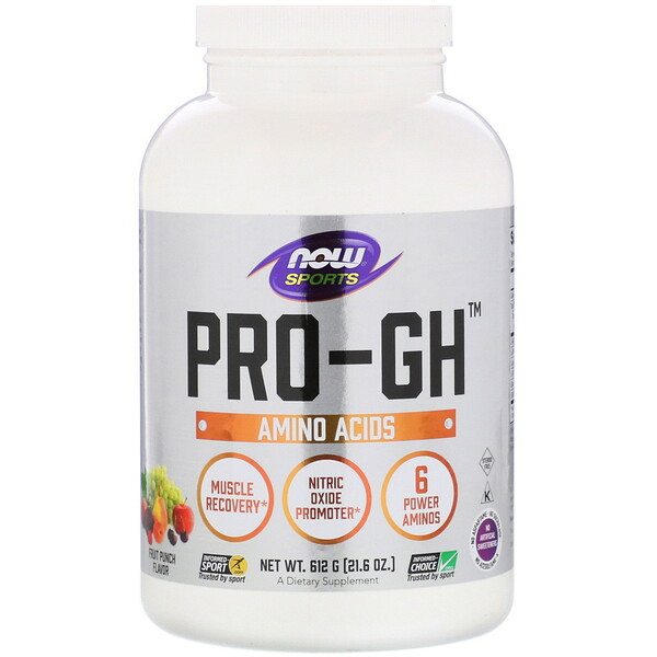 Sports, Pro-GH, Fruit Punch, 21.6 oz (612 g)
