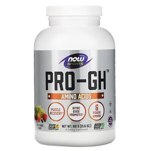 Now Foods, Sports, Pro-GH, Fruit Punch, 21.6 oz (612 g) отзывы