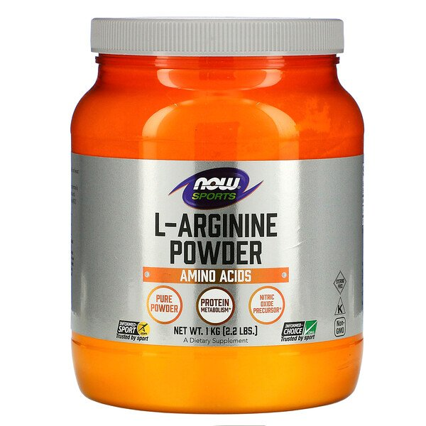 Sports, L-Arginine Powder, 2.2 lbs (1 kg)
