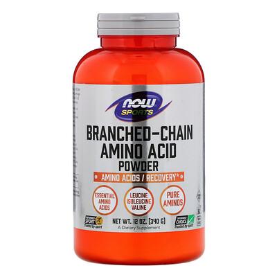 Sports, Branched-Chain Amino Acid Powder, 12 oz (340 g) sports aakg pure powder 7 oz 198 g