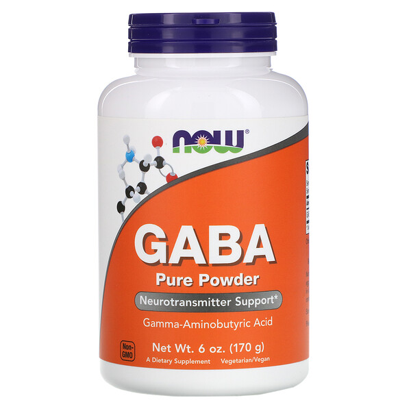 Now Foods, GABA, Pure Powder, 6 oz (170 g)