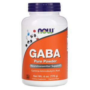 Now Foods, GABA, Pure Powder, 6 oz (170 g) отзывы покупателей