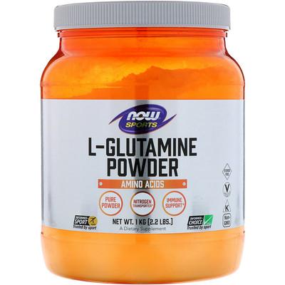 Купить Спорт, L-глютамин, порошок, 35, 3 унций (1 кг)