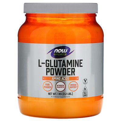 Фото - Sports, L-Glutamine Powder, 2,2 фунта (1 кг) biotech nutrition l glutamine 240 г