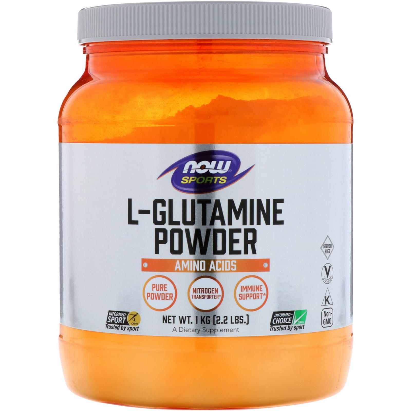 l glutamine now sports