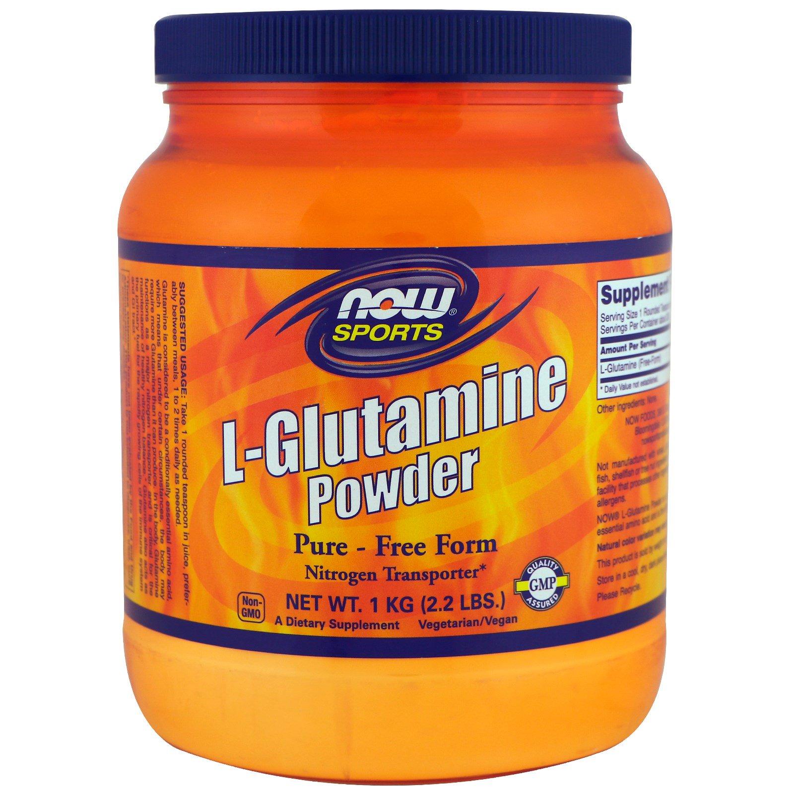 L glutamine dosage