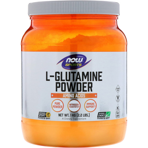 Now Foods, Sports, L-Glutamine Powder, 2.2 lbs (1 kg)
