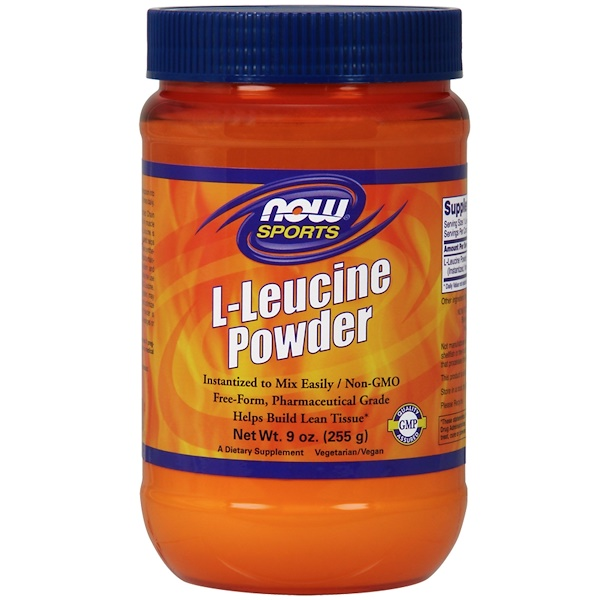 Now Foods, Sports, L-Leucine Powder, 9 oz (255 g)