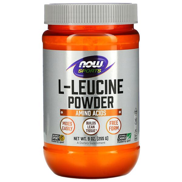 Sports, L-Leucine Powder, 9 oz (255 g)
