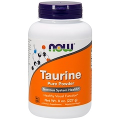 Now Foods, Taurine, Pure Powder, 8 oz (227 g)