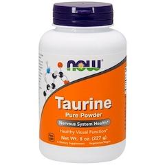 Now Foods, Taurin, reines Pulver, 8 oz. (227 g)