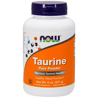 Now Foods, Taurin, reines Pulver, 8 oz. (227 g)