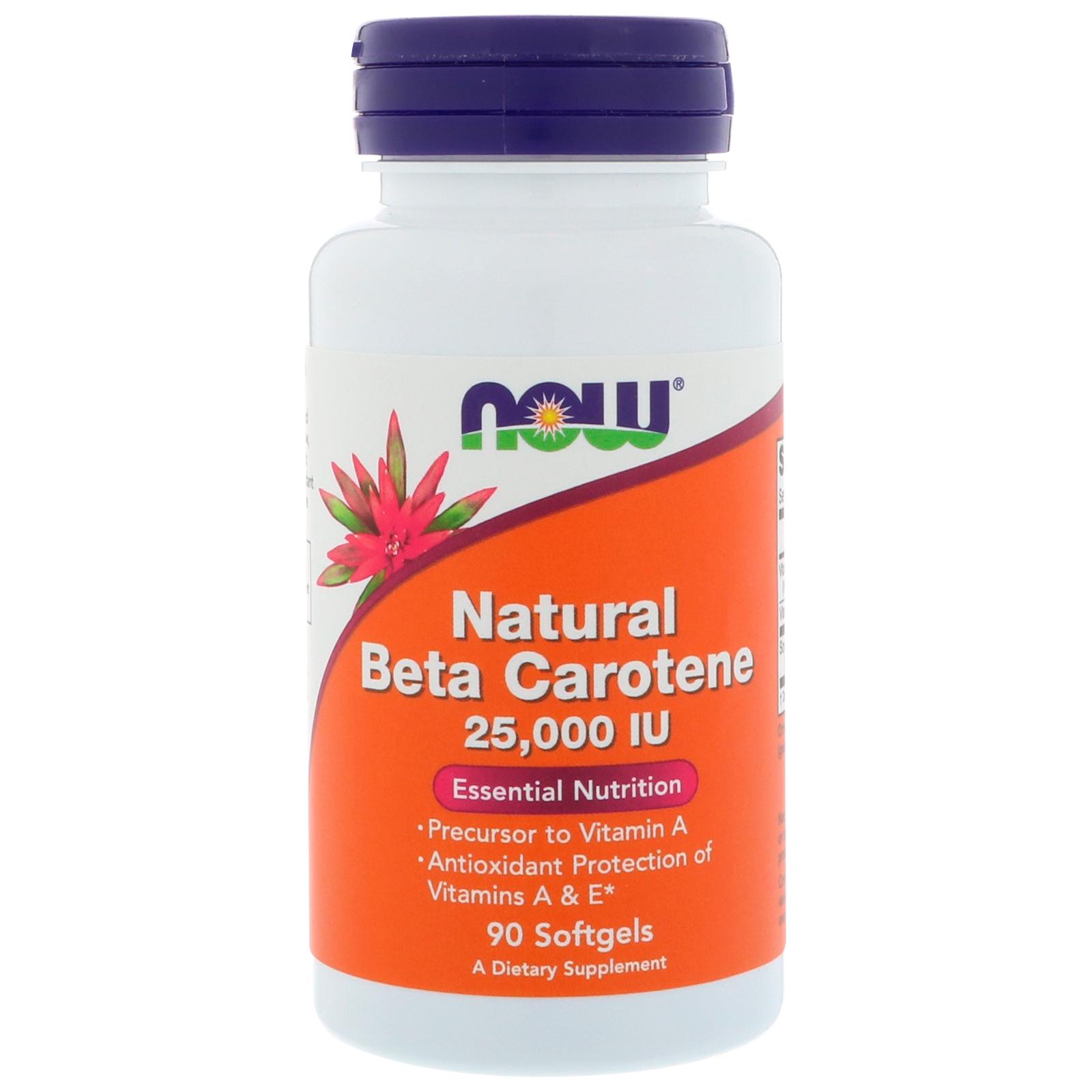 What are beta carotene