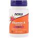 Витамин А, 10000 МЕ, 100 капсул - изображение