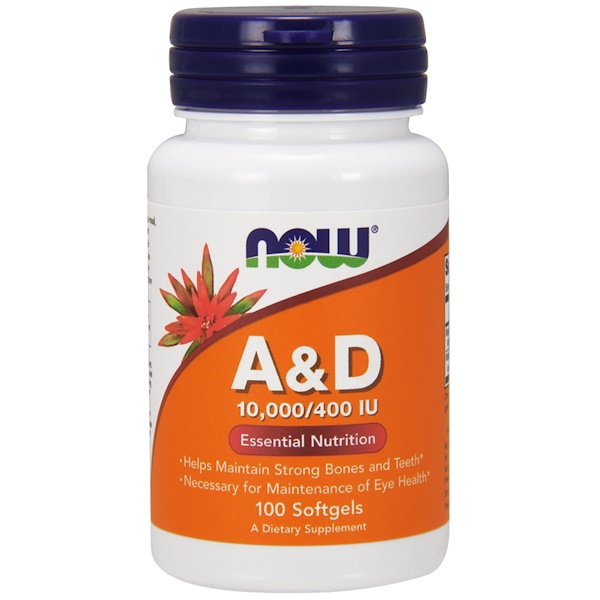 A&D, Essential Nutrition, 100 Softgels