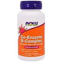 Now Foods, CO-ENZYME B-COMPLEX, 60 Vcaps - фото