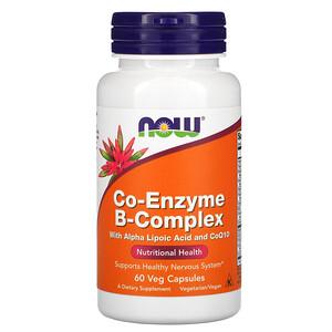 Now Foods, Co-Enzyme B-Complex, 60 Veg Capsules отзывы покупателей