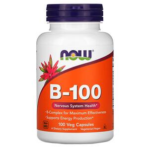 Now Foods, B-100, 100 Veg Capsules отзывы