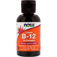Жидкий B-12, B-комплекс, 2 жидк. унц. (59 мл) - фото