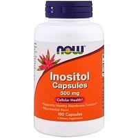 Инозитол в капсулах, 500мг, 100капсул - фото