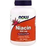 Отзывы о Now Foods, Ниацин, 500 мг, 250 таблеток