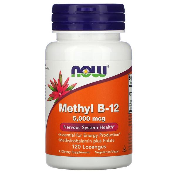 Methyl B-12, 5000 mcg, 120 Lozenges