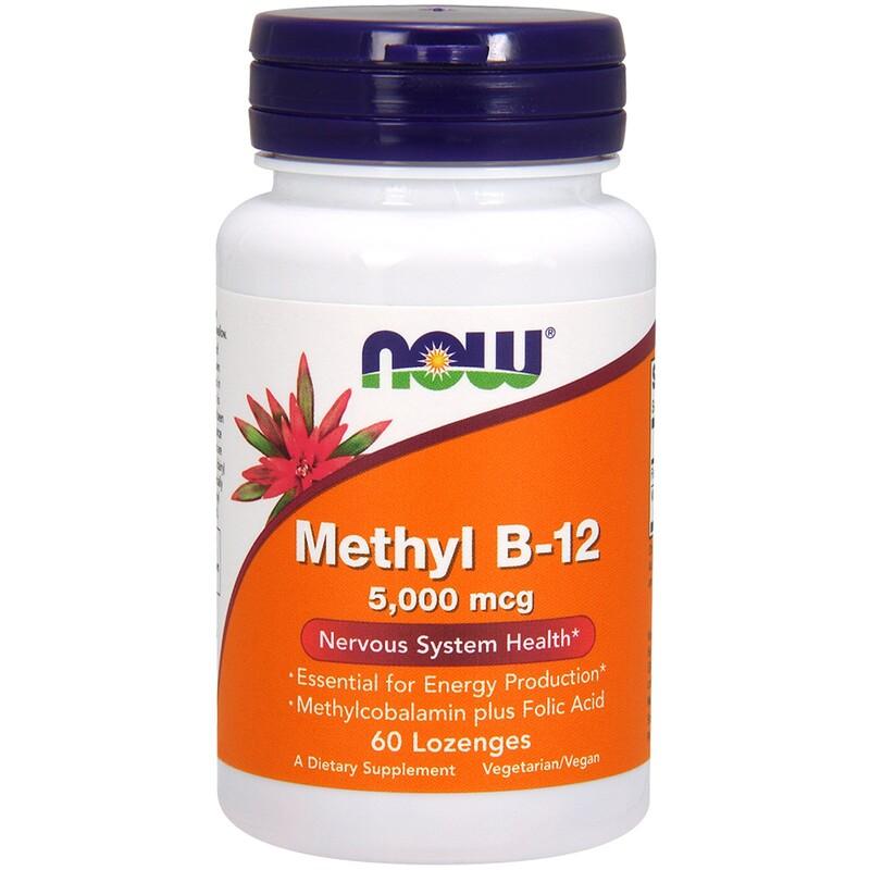 Methyl B-12, 5000 mcg, 60 Lozenges