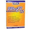 Now Foods, Instant Energy B-12, 2000 mcg, 75 Packets, (1 g) Each
