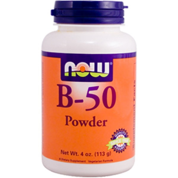 Now Foods, B-50 Complex, Powder, 4 oz (113 g) (Discontinued Item)