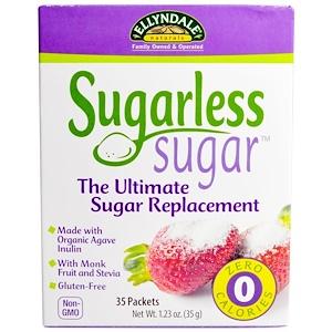 Now Foods, Sugarless Sugar, 35 пакетиков, 35 г (1,23 унция)