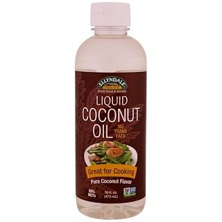 Now Foods, Ellyndale Naturals, Liquid Coconut Oil, Pure Coconut Flavor, 16 fl oz (473 ml)