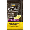 Now Foods, Ellyndale Naturals, Keto Coconut Infusions, Non-Dairy Butter Flavor, 3 Pack, 0.5 fl oz (15 ml) Each