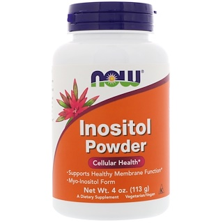 Now Foods, Inositol Powder, 4 oz (113 g)