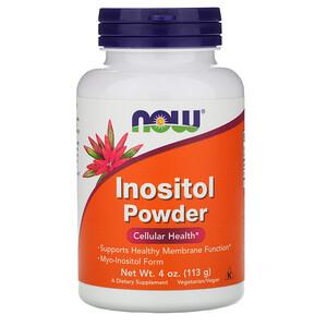 Now Foods, Inositol Powder, 4 oz (113 g) отзывы покупателей