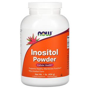 Now Foods, Inositol Powder, 1 lb (454 g) отзывы покупателей