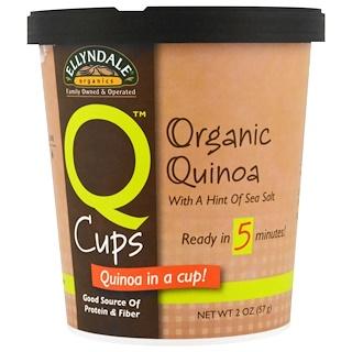 Now Foods, 퀴노아 컵스, 유기농 퀴노아, 2 oz (57g)